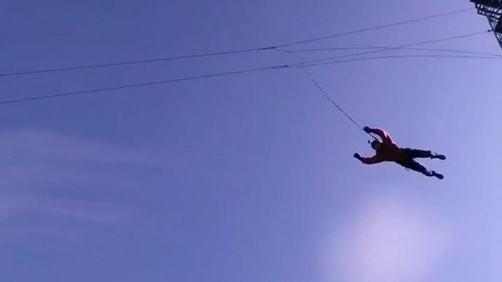 Отец Ратмира Нагимьянова совершил свой первый прыжок с башни, чтобы испытать эмоции сына