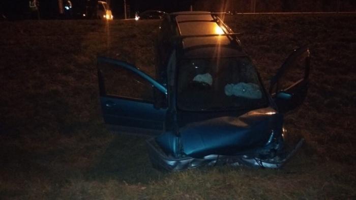 Авария случилась в 22:45 на трассе между Краснообском и ОбьГЭСом
