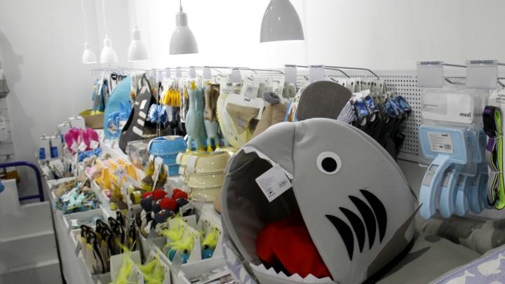 В «Сан Сити» на месте Adidas открылся магазин странных подарков и смешных безделушек