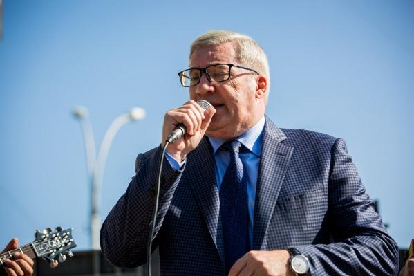Виктор Толоконский вернулся в Новосибирск этой осенью после отставки с поста губернатора Красноярского края