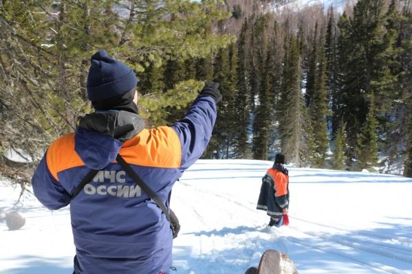 По словам спасателей, снег в лесу еще очень рыхлый и возобновлять поиски пока рано