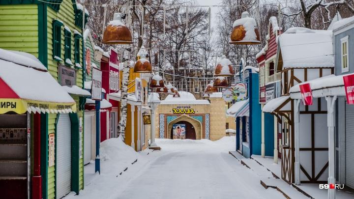 Никаких игрушек и сувениров: парку Горького в Перми выписали штрафы за торговлю