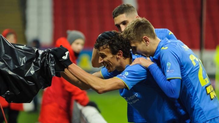 «Ростов» обыграл казанский «Рубин» на выездном матче