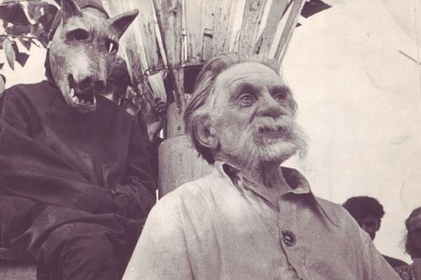 """Этот снимок Писахова был сделан уже в 1950-е годы известным фотокорреспондентом газеты """"Правда Севера"""" Калестиной Коробицыным"""