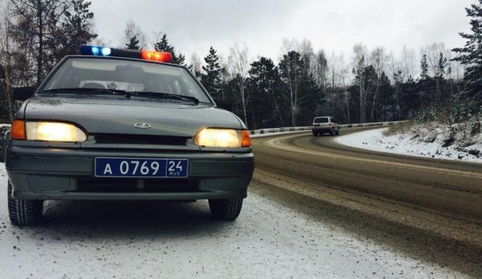 Выезд в сторону Дивногорска перекрыт для автобусов и грузовиков: видимость меньше 20 метров