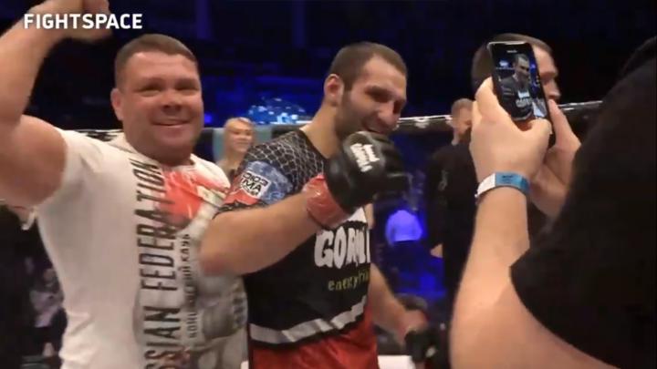 Пермяк Никита Шаршавин одержал победу в вольном бою ММА на турнире GFC 24