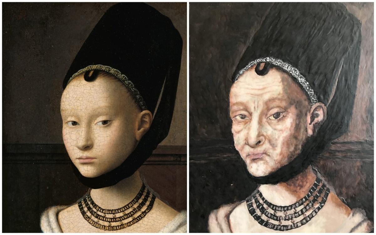«Портрет девушки» Петруса Кристуса