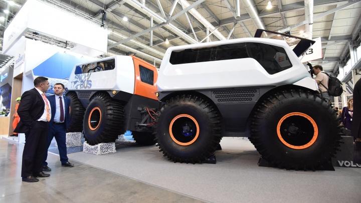 Автобус для Заполярного Севера и Марса: кто показал самый необычный транспорт на «Иннопроме»