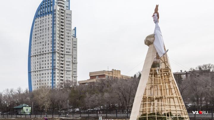Стать гладиатором и сжечь самое высокое чучело в России: программа проводов зимы в Волгограде