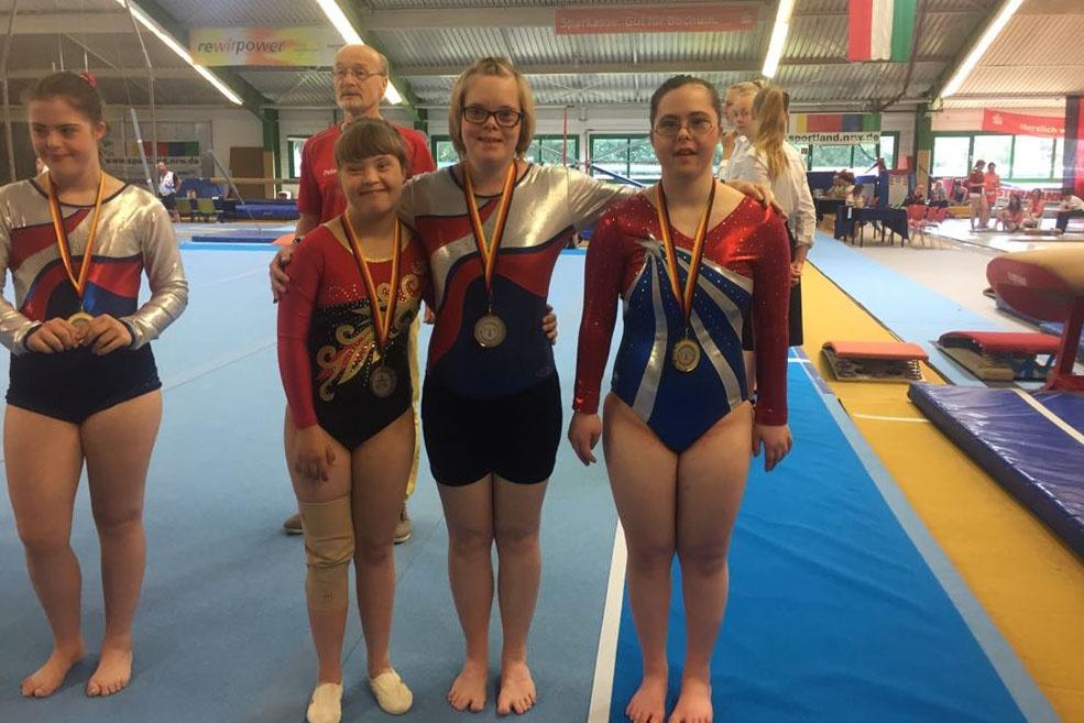 Челябинская «особенная» гимнастка завоевала 4 медали начемпионате мира