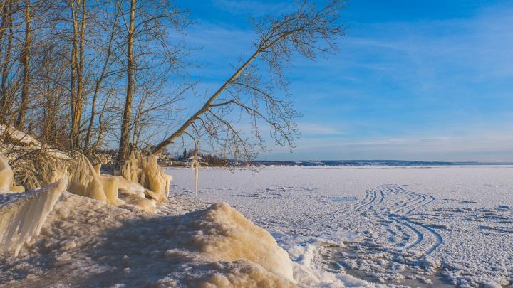 МЧС предупредило о сильной изморози в Прикамье