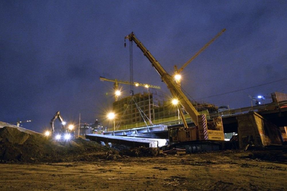 Сняли пролёты, чтобы построить дублёр Макаровского моста