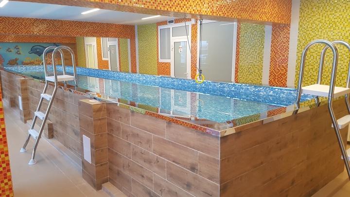 В помещении бывшего магазина на «Спартаке» открылся детский бассейн