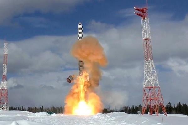 Перевооружение на новый межконтинентальный ракетный комплекс «Сармат» начнется в 2021 году. В том числе он поступит в дивизии Красноярского края