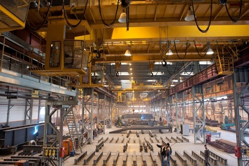 Предприятие специализируется на производстве конструкций для мостов