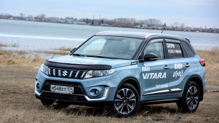 Сузучья доля: бороздим колеи на обновлённой Suzuki Vitara с турбомотором