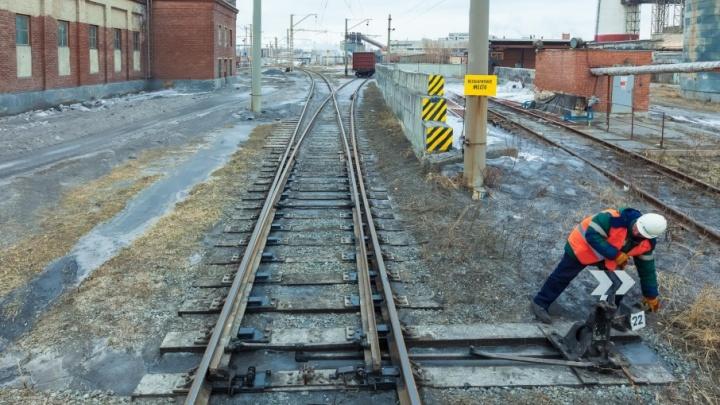 В Шадринске задержали похитителя деталей железнодорожных путей