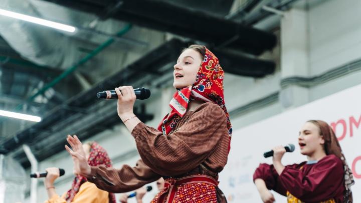 Керамика, интерьерные куклы и плетение из лозы: в Перми открылась «Ярмарка народных промыслов»