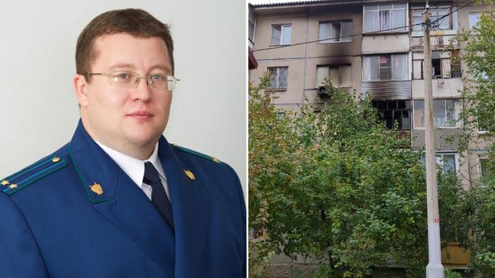 «Только вернулся из Анапы»: встрашном пожаре на Гусарова погиб прокурор Лесосибирска и его семья