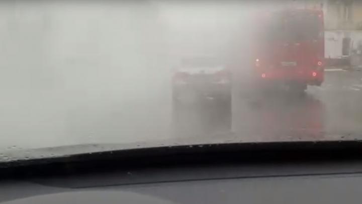 Центр Ярославля заволокло белым дымом: что случилось