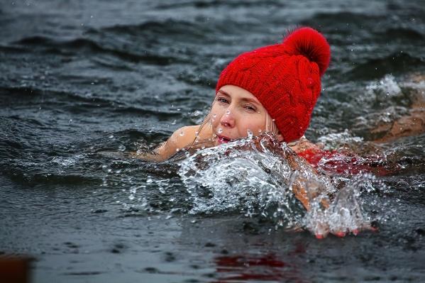 29 новосибирцев окунулись в холодную воду