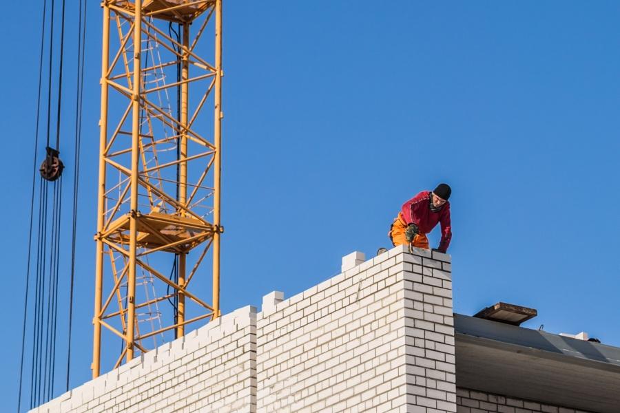 ВСибири на17% снизились объемы ввода жилья