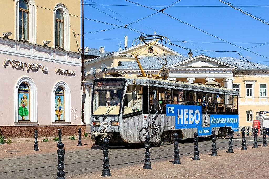 Трамваи такого типа уже курсируют по Нижнему Новгороду