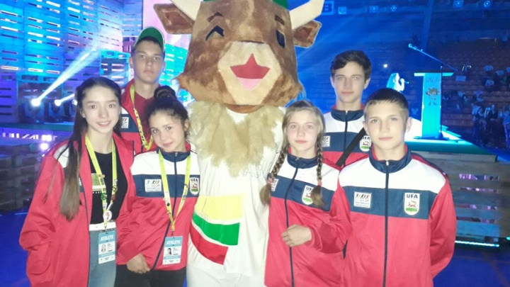 Юные уфимцы везут золото и бронзу с Международных детских игр