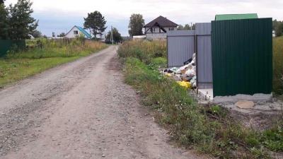 Посёлок под Новосибирском завалило мусором: отходы никто не вывозит больше месяца