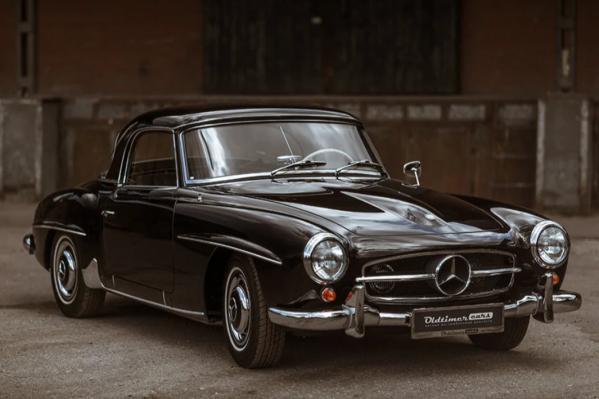 Mercedes-Benz W121 190 выпускали в 50-х годах