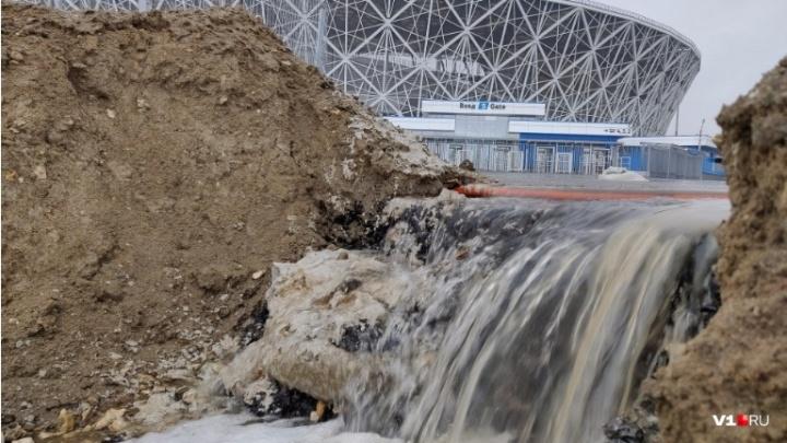 Прокуратура заставила администрацию Волгограда взять на баланс ливнёвки и следить за ними