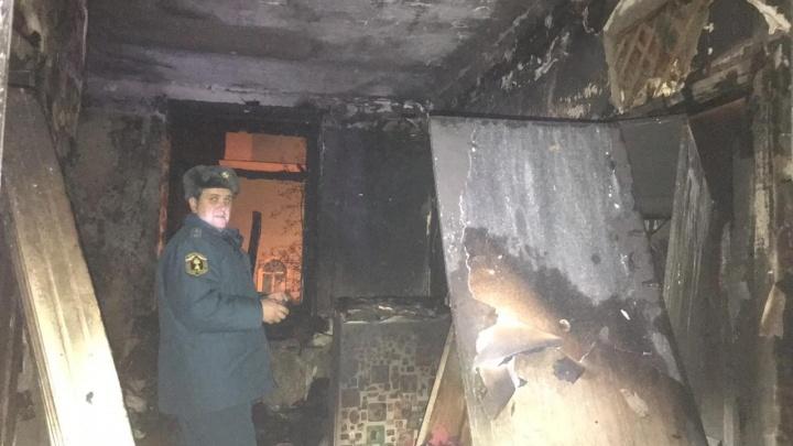 В Уфе загорелась многоэтажка: эвакуировали 60 человек