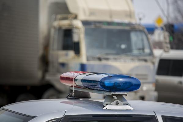 В полиции сообщили, что водитель ехал на красный свет