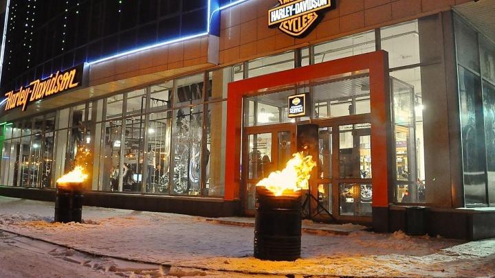 В преддверии Нового года в Harley-Davidson Новосибирск подготовили подарки для всех