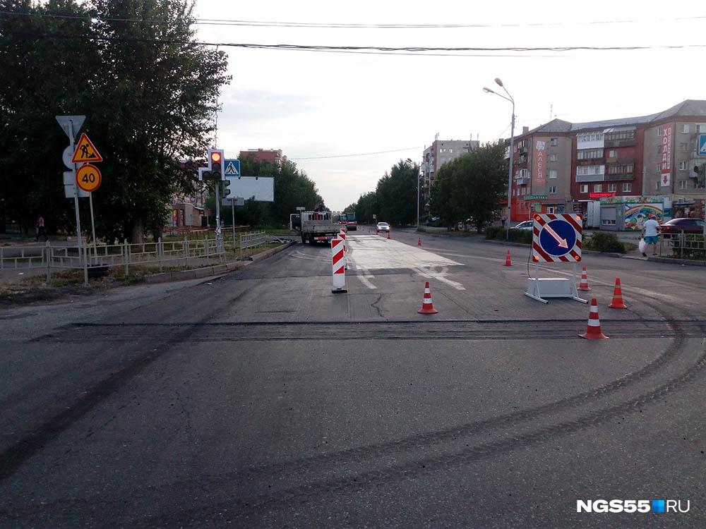 Руководитель Росавтодора Роман Старовойт проверил ремонт дорог вОмске