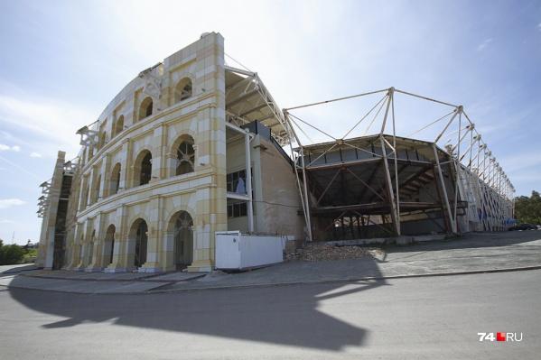 Стадион «Центральный» не могут довести до ума много лет