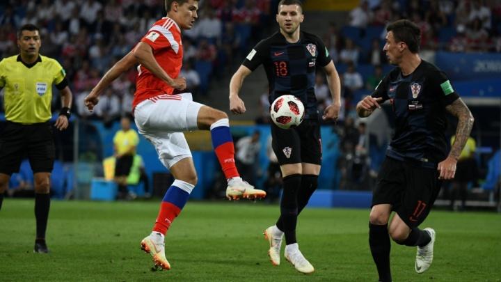 Матч дня ЧМ-2018: Хорватия, которой мы проиграли, сразится с Англией за выход в финал