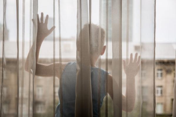 Родителей ребёнка в квартире не было