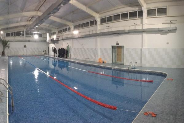 ЧП случилось в бассейне города Чёрмоза