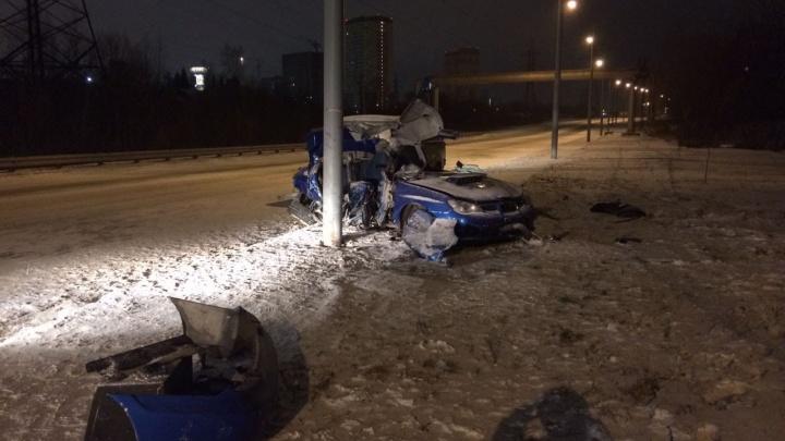 Скорость была высокая: в ДТП на Георгия Колонды погибли два человека