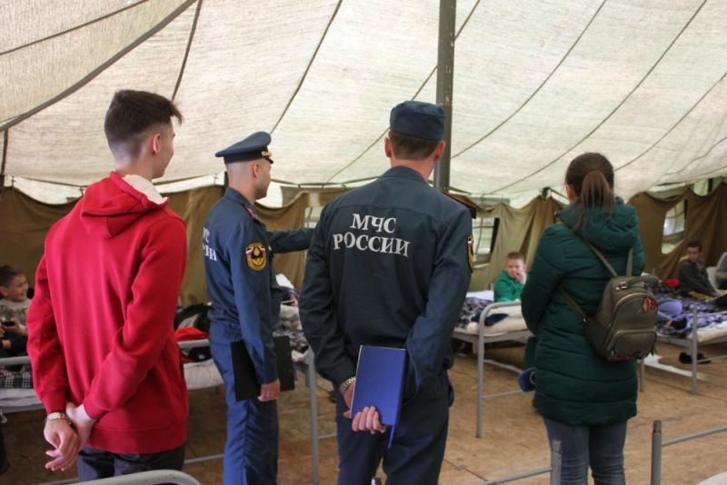 Спасатели отправились проверять палаточные лагеря после происшествия в Хабаровском крае
