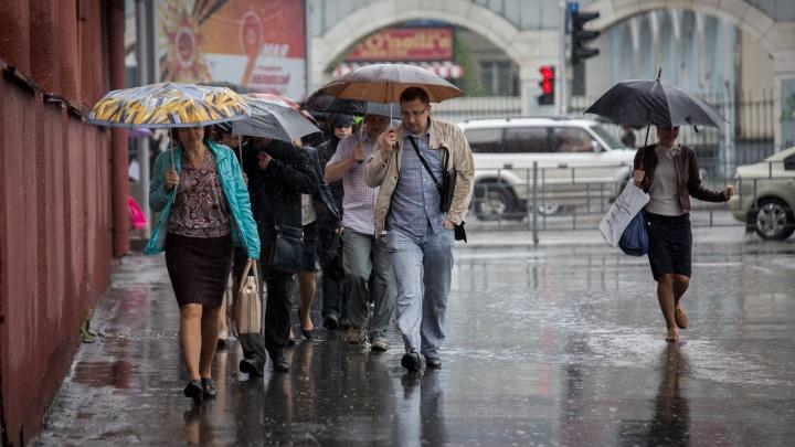 Готовьте зонтики: синоптики пообещали, что вечером в Новосибирске пойдёт дождь