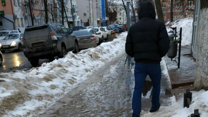 «Пусть пройдёт, если получится»: мэру Ярославля выставили список худших тротуаров города