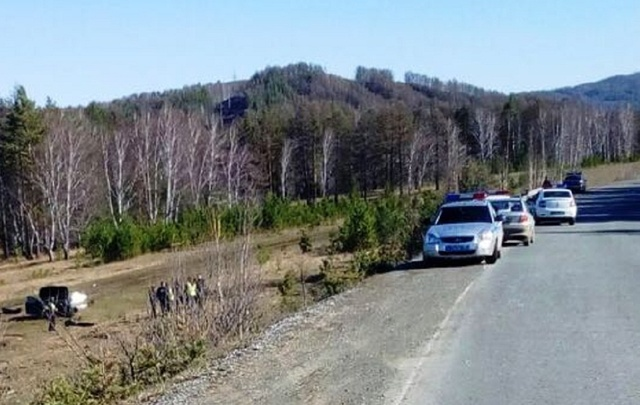 В Башкирии полицейские устроили погоню со стрельбой