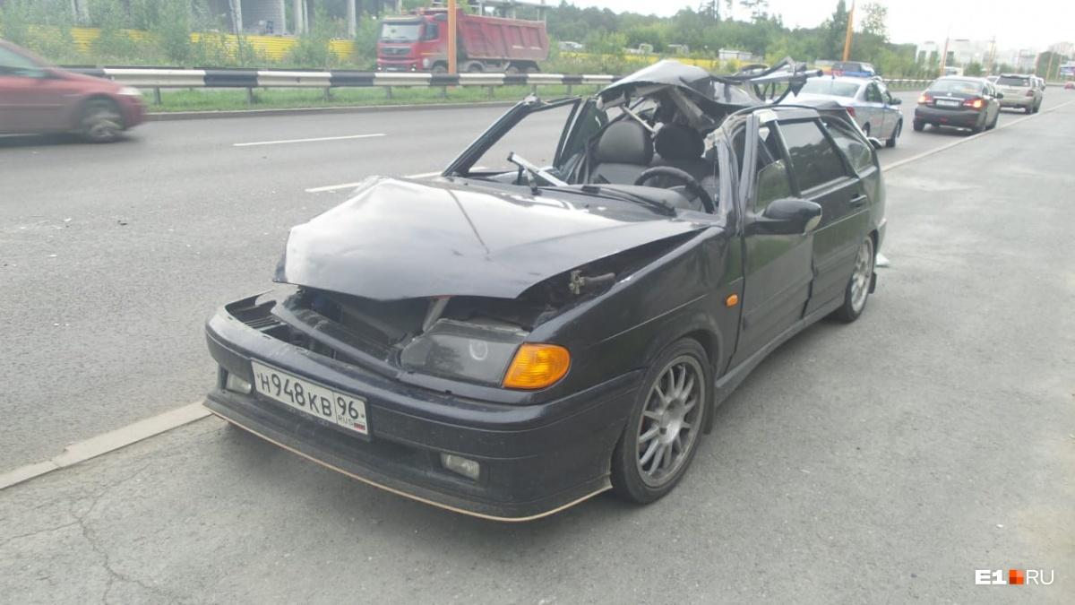Кузов автомобиля восстановлению, скорее всего, не подлежит
