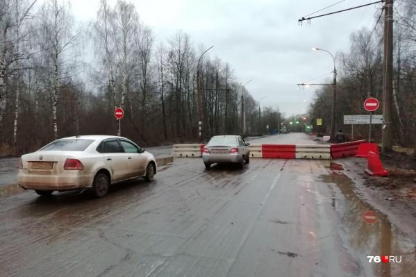 В Ярославле перекрыли Тутаевское шоссе и это стало кошмаром для водителей