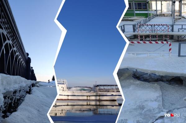 Фотограф-любитель Евгений Ковалёв показал, что на самом деле сейчас творится на Волжской набережной в центре Ярославля