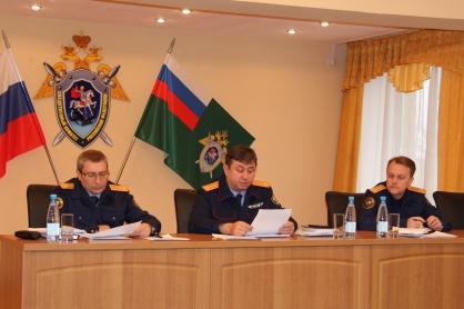 Глава СУ СКР по Курганской области проверил работу своих подчиненных в Шадринске
