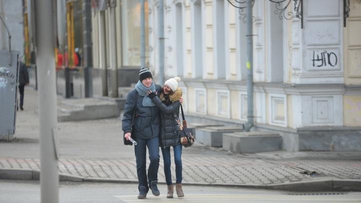 Этот ноябрь вошёл в пятёрку самых тёплых в Екатеринбурге за последние сто лет