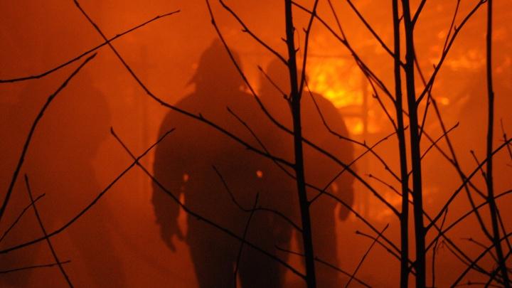 На сгоревшей даче в Октябрьском районе погиб человек